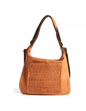 Bolso mochila de piel para mujer Monpiel Cuero Frontal Bolso