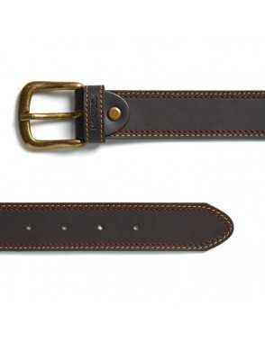 Cinturón Piel Engrasada para hombre hebilla