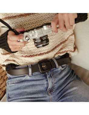 Cinturón de cuero Mujer...