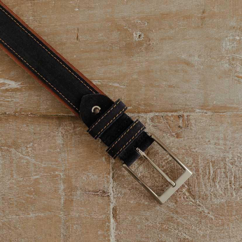 Cinturón Serraje hombre