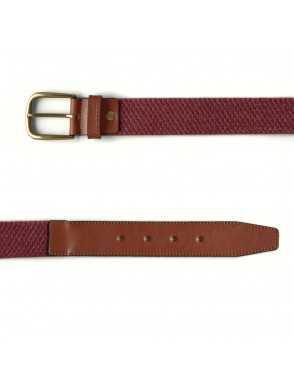 Men Elastic Belt - Burdeos