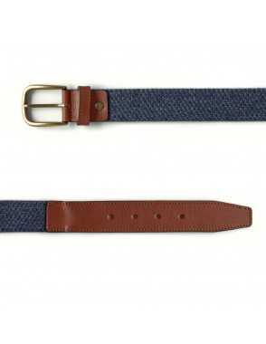 Men Elastic Belt - Blue