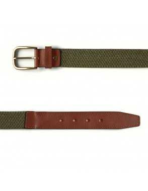 Men Elastic Belt - Green