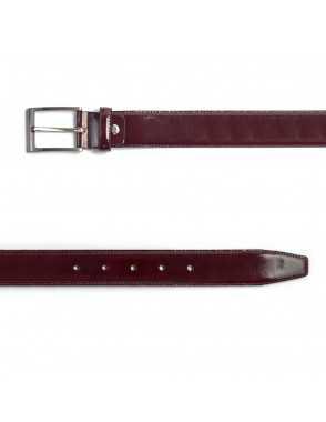 Leather belt Castellano -...