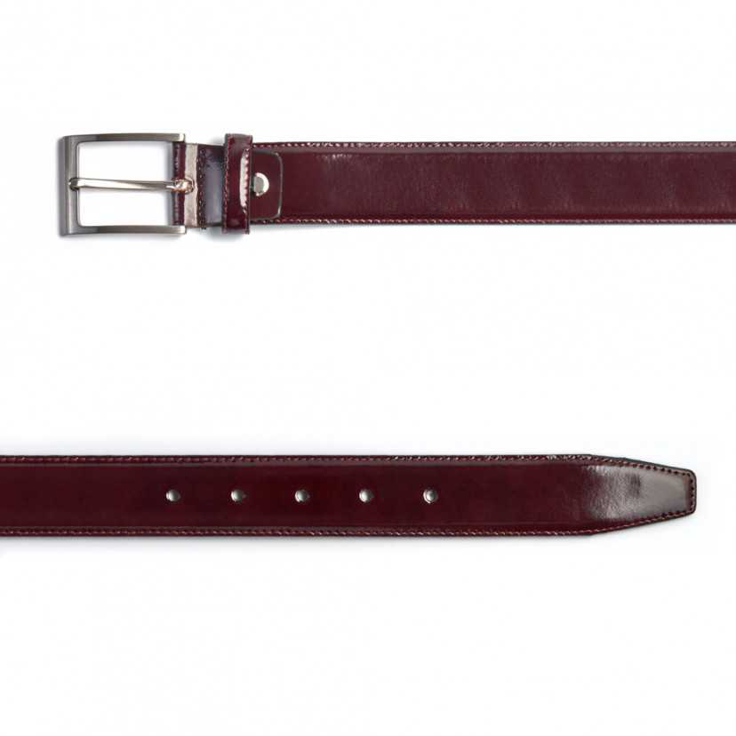 Leather belt Castellano