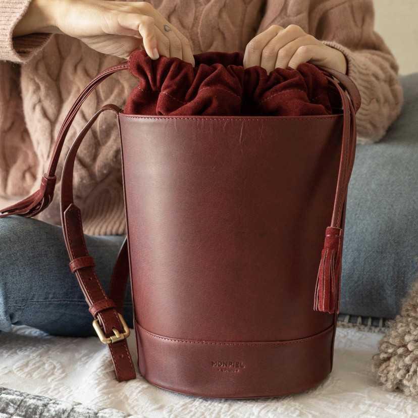 Round Bucket Bag