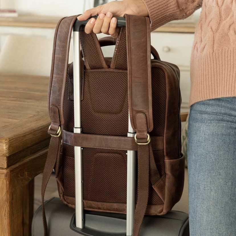 Men's leather backpack Hunter