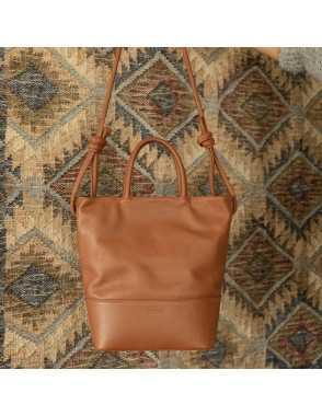 Large Hobo Bag Knots - Cuero