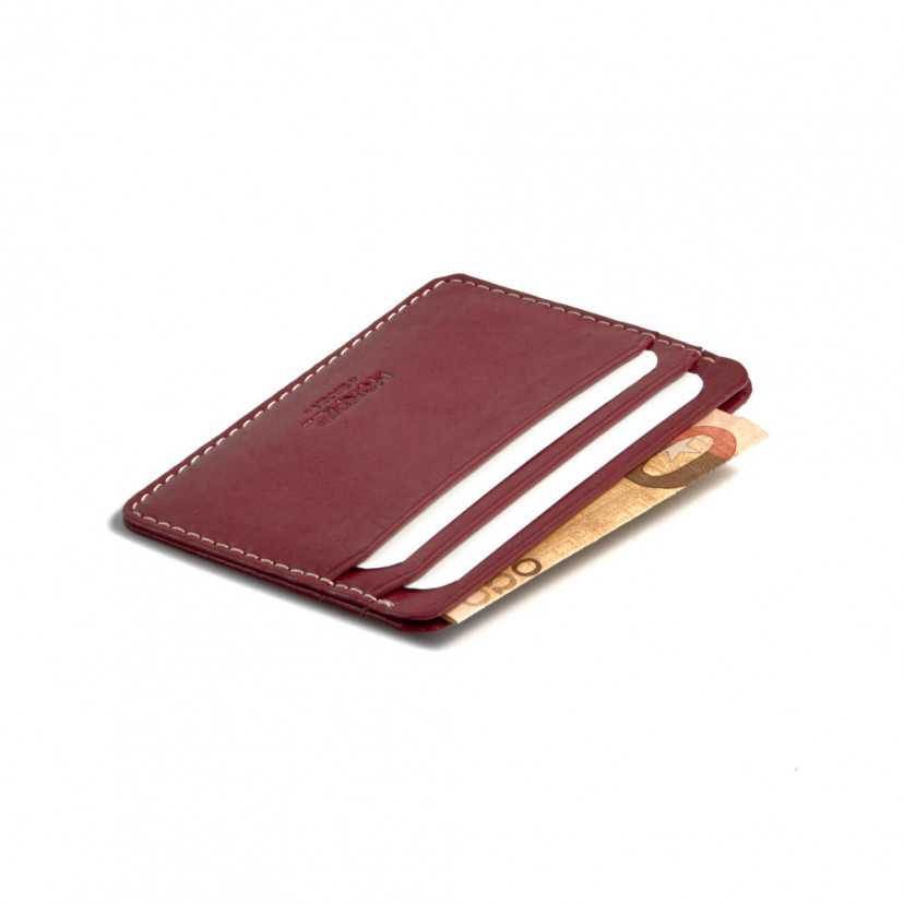 Leather card holder Mini