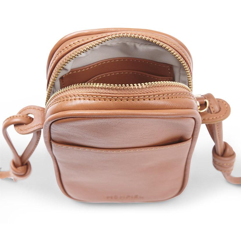 Leather Nano Bag Nudos