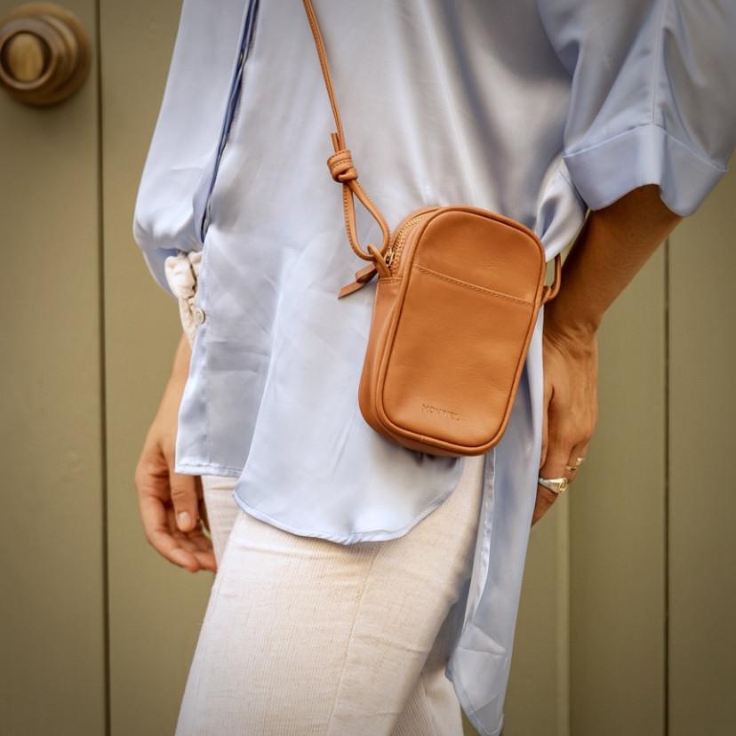 Bolso para Móvil de Piel Nano Bag Nudos