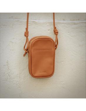 Leather Nano Bag Nudos - Cuero