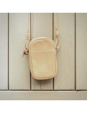 Leather Nano Bag Nudos -...